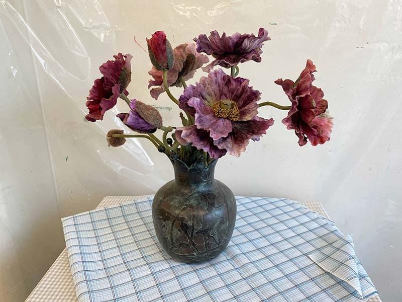 モチーフの造花